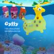 Gymnic® Gyffy zsiráfalakú ugrálójáték