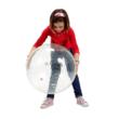 Csengőlabda készségfejlesztő nagylabda átlátszó 55 cm