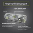 TriggerPoint Solid CORE Roller™ masszázshenger  46 cm szürke