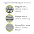 TriggerPoint Solid CORE Roller™ masszázshenger