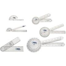 ASATechmed Goniometer Szögmérő készlet 6 db-os Gyógytornász, Orvosi felhasználásra
