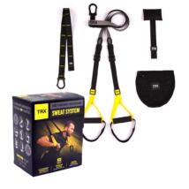 TRX SWEAT SYSTEM Otthoni használatra Suspension Trainer edzőkötél/heveder + 6 hónap free TRX APP, 6 letölthető edzés