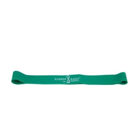 Dittmann Rubberband vékonyított loop gumiszalag közepes ellenállású zöld