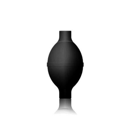 Kézipumpa, félautomata, vagy higanyos  vérnyomásmérőkhöz H3 1V fekete