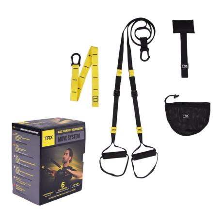 TRX MOVE SYSTEM Otthoni használatra Suspension Trainer edzőkötél/heveder + 6 letölthető edzés
