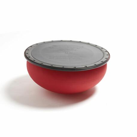 Togu® Jumper® PRO Egyensúlyozó félgömb 52 x 24 cm piros