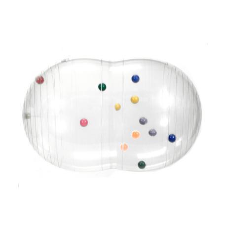 Gymnic® Fizio Activity Roll duplalabda átlátszó 55x90 cm