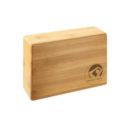 Trendy YogaBlock Bamboo, Fa Jógatégla 23 x 15 x 7,5 cm Fa