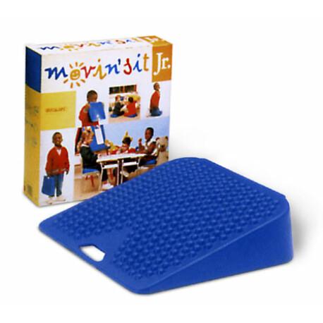 Movin' Sit Jr. Ék alakú ülőpárna gyerekeknek kék 26x26 cm