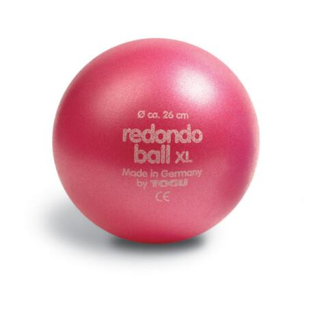 Redondo Ball, univerzáls puhalabda fejlesztőedzésekhez, babatornához 26 cm rubin-piros