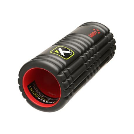 TriggerPoint GRID X® 1.0 Foam Roller masszázshenger 33 x 14 cm fekete Dupla erősségű